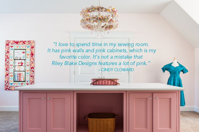Riley Blake Quote