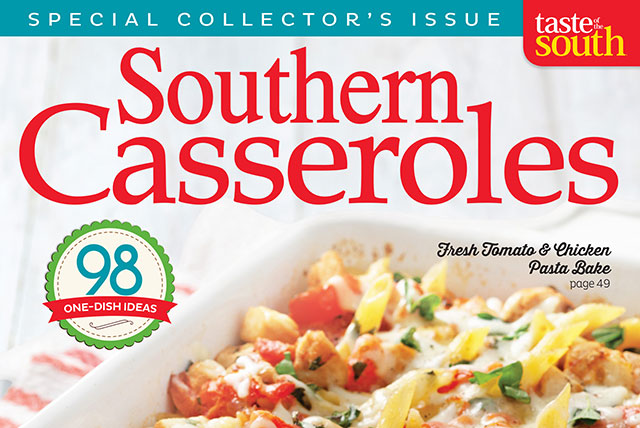 Taste of the South Casseroles Cover