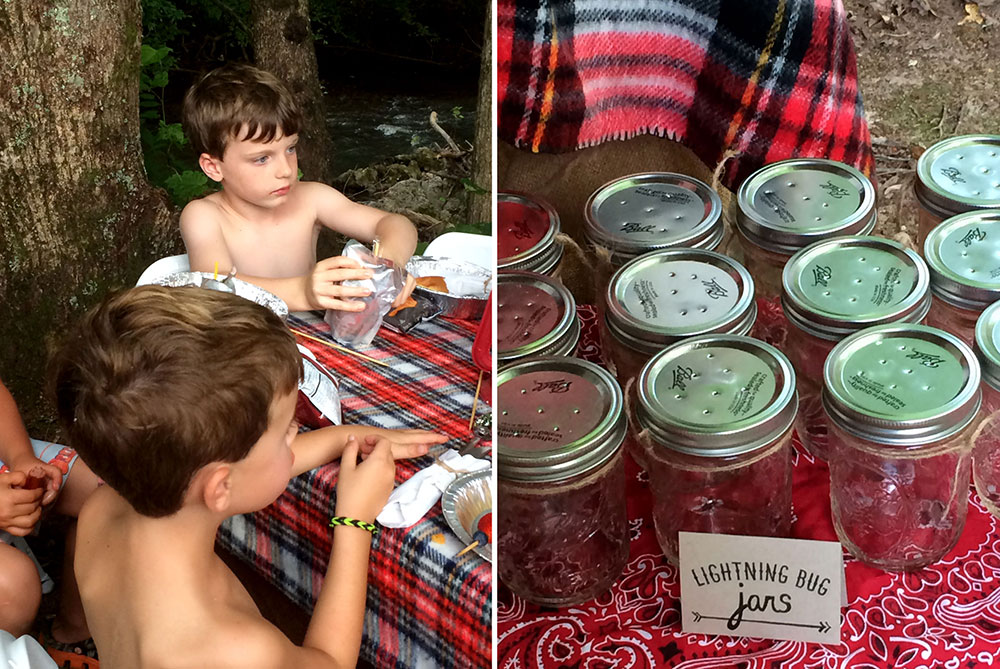 How to Throw a Camping-Themed Birthday Party
