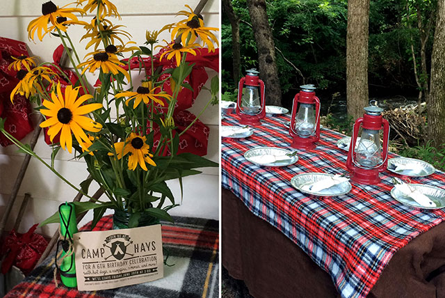 How To Throw A Camping Themed Birthday Party