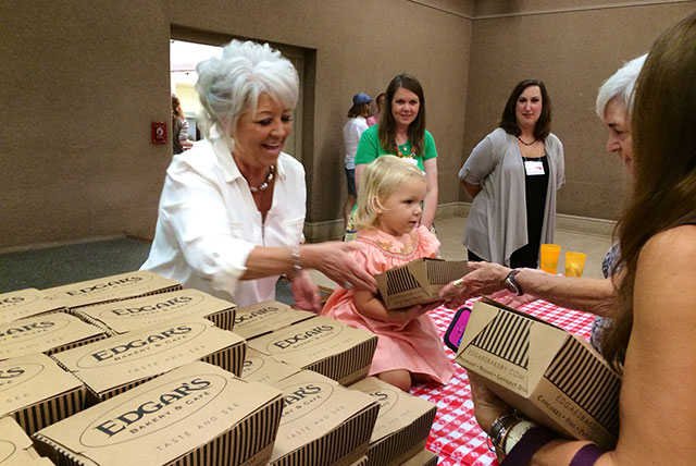 Paula Deen + Little Girl