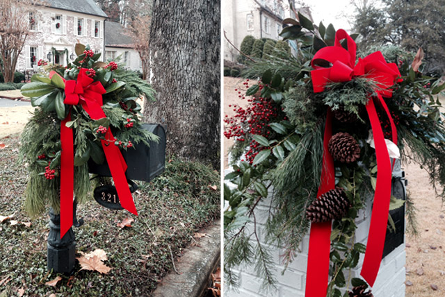 do you decorate your mailbox for the holidays