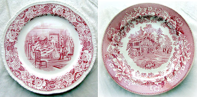 & Antique Transferware with Lidy from FrenchGardenHouse