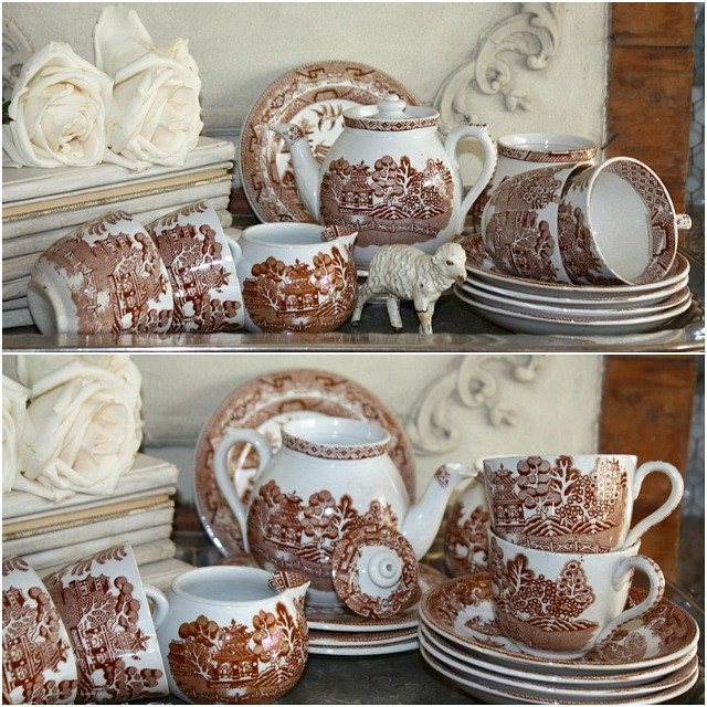 transferWillowBrownChildren'sTeaset