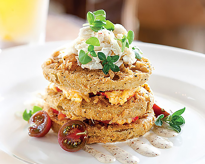 Acre Restaurant's Fried Green Tomatoes