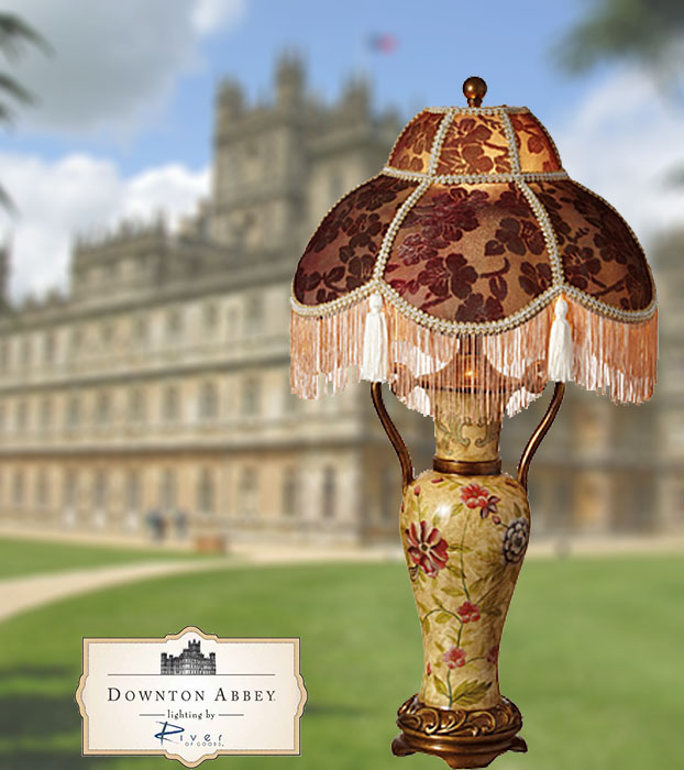 Downton Abbey Lamp