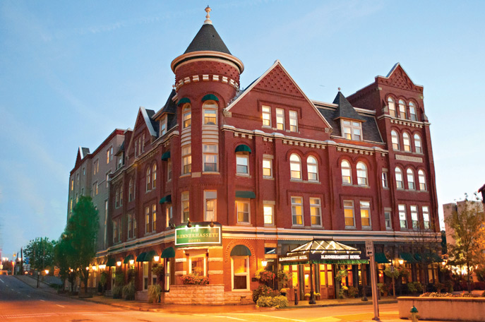 West Virginia getaway - Blennerhassett Hotel