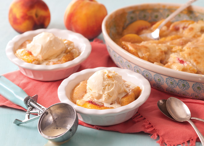Photo of Peach Cobbler from Taste of the South