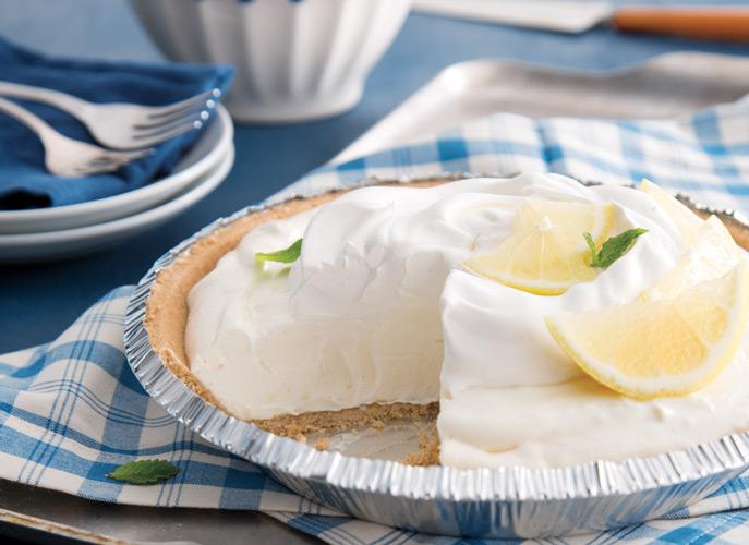 Lemon Icebox Pie from Taste of the South