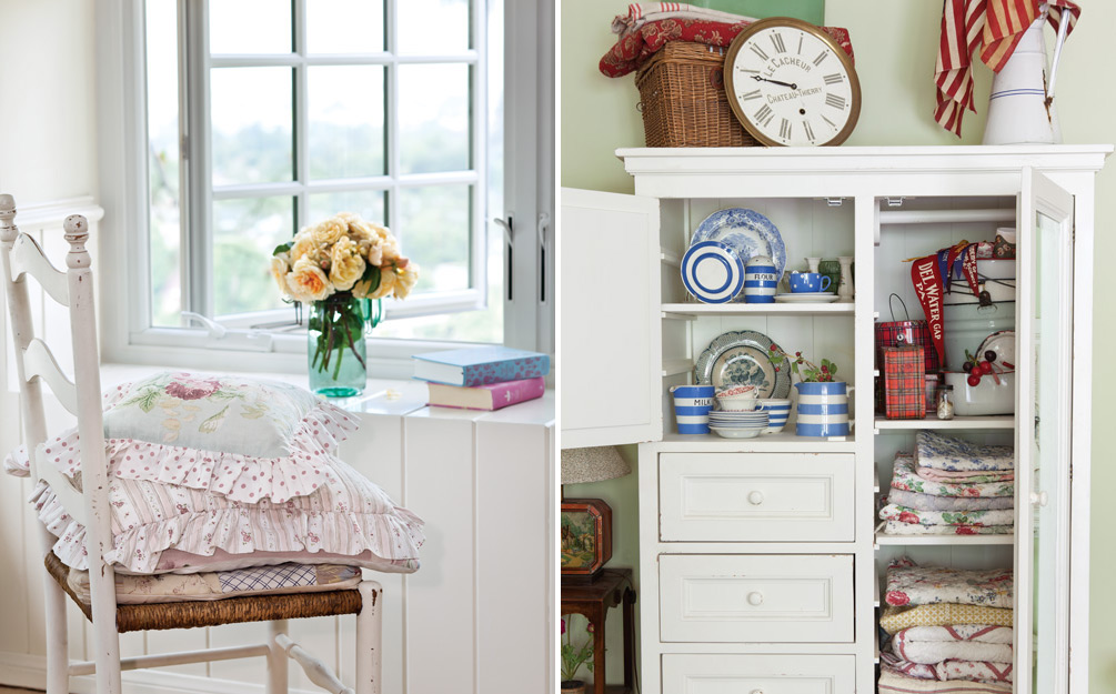 tips for decorating with white