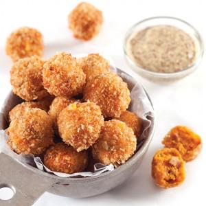 Sweet Potato Cajun Fritters - Football Food