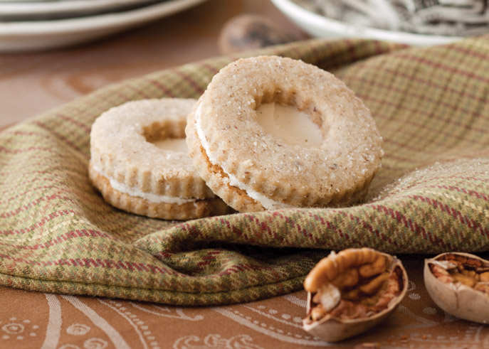Autumn Bliss picture of nut cookies