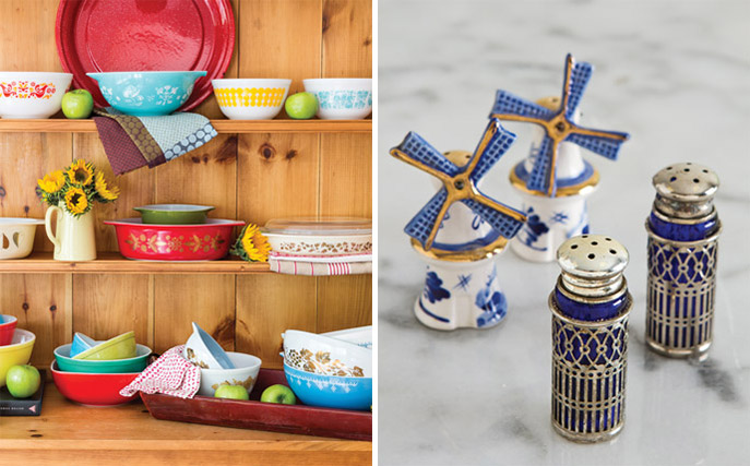 Pyrex and Salt and Pepper Shaker Collections - Ribbon in My Journal
