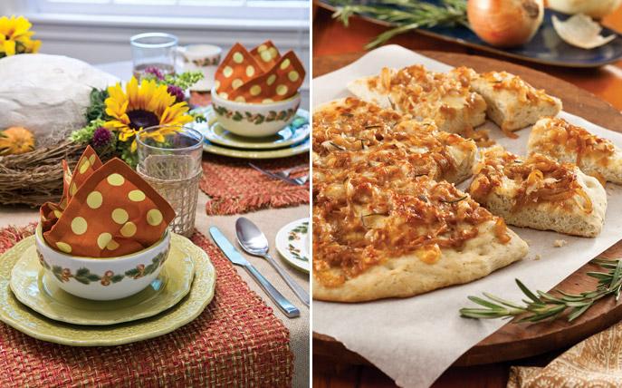 Savory Side of Fall Recipes