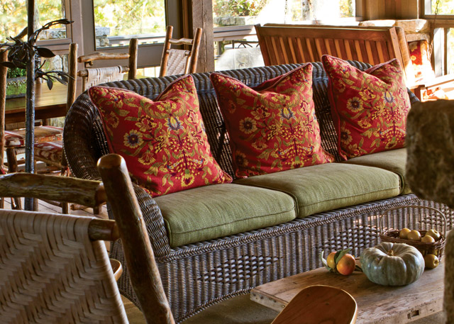 Finding Quiet Time - Porch from The Cottage Journal Autumn 2015
