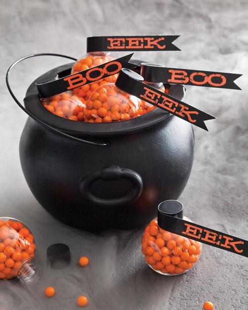 DIY Halloween Treats - Assemble a Creative Cauldron