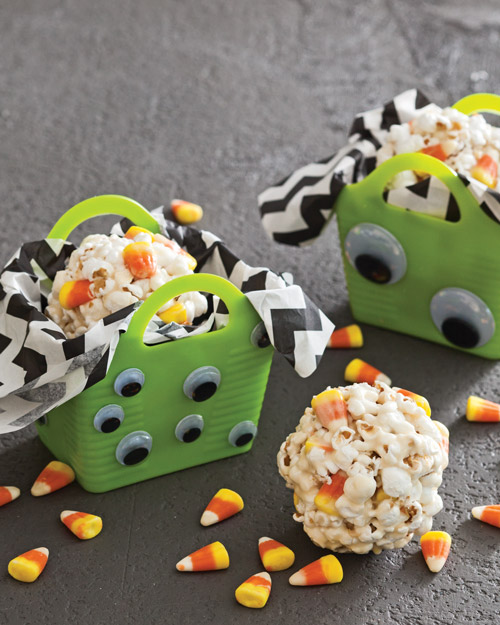 DIY Halloween Treats - Monster Goody Bag