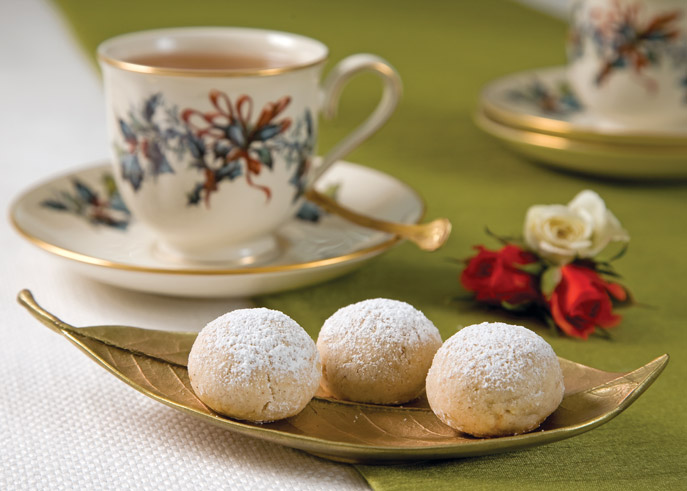 TeaTime Holidays cookie recipe
