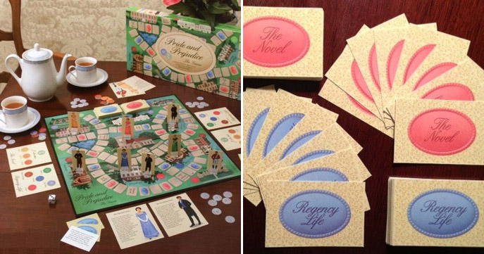 Holiday Competition with a Pride and Prejudice game giveaway