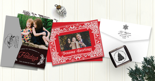 Victoria Collection of Holiday Cards from Expressionery.