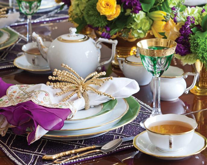 Mardi Gras Tea