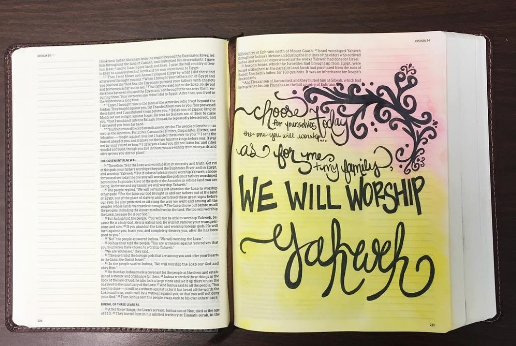 The Note-Taking Bible from Lifeway