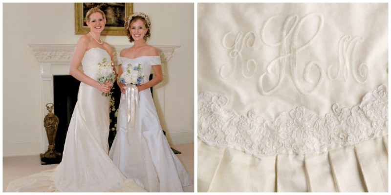 Reworking Vintage Wedding Dresses