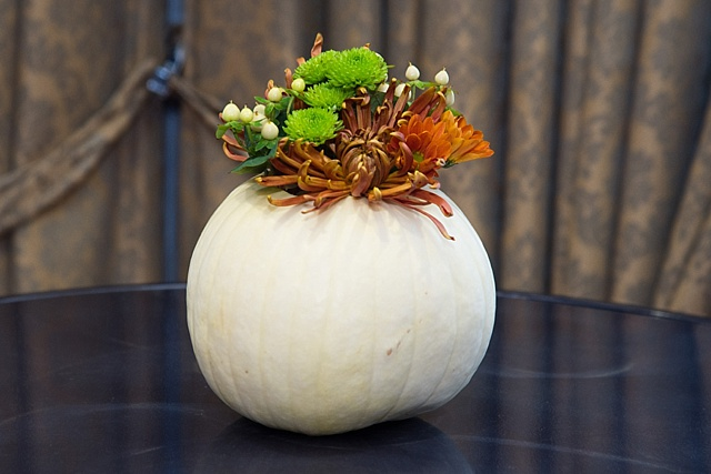 Fall Colors in Arrangements - The Ribbon In My Journal