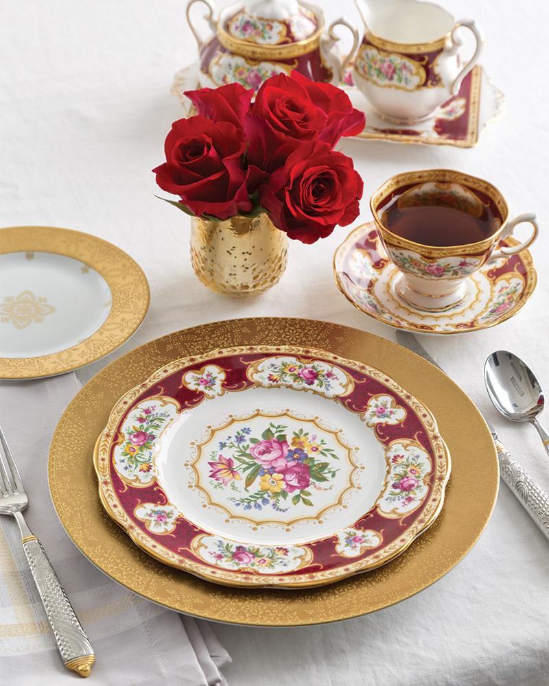 Bold and Elegant Tea China