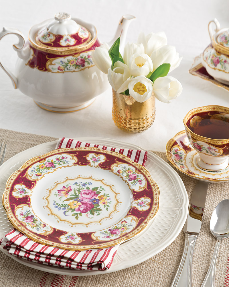 Bold and Elegant Tea China