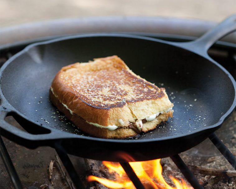 Grilled S'more Sandwiches To Share!