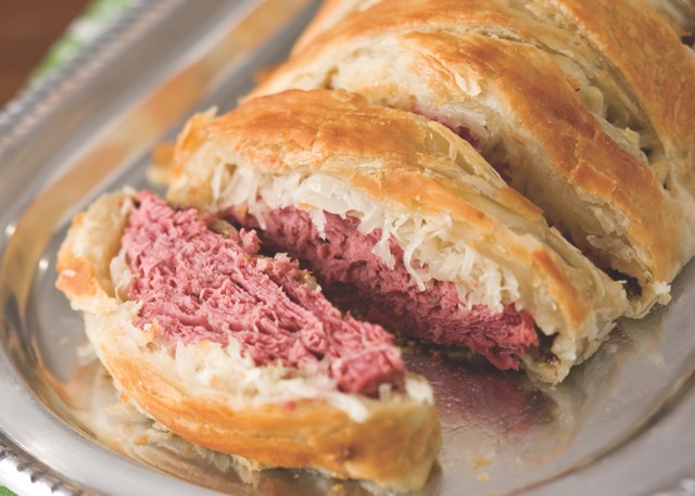 Reuben Strudels for St. Patrick's Day
