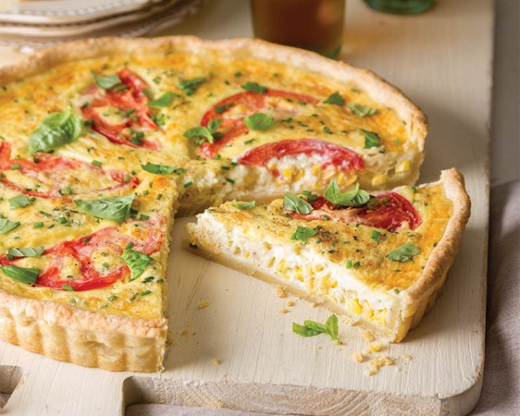 Tomato and Corn Tart