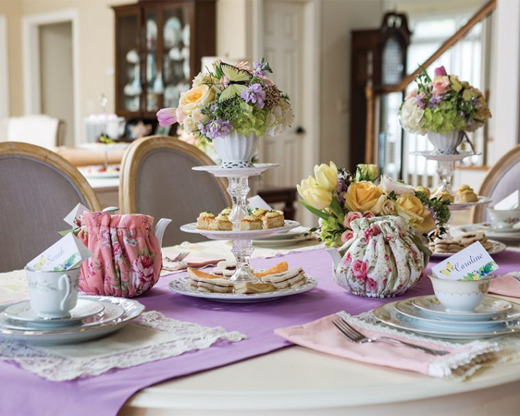 Afternoon Tea to Commemorate the Milestones of Life