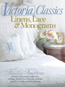 Victoria Linens, Lace & Monograms