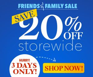 Family and Friends Sale
