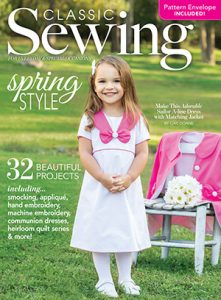 Classic Sewing Spring 2018 Issue