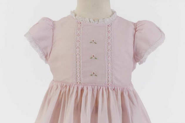 Pink heirloom dress