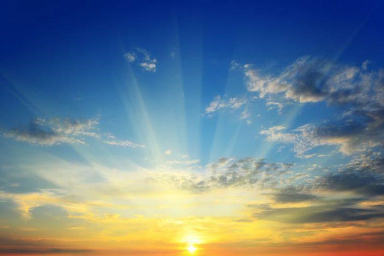 the beauty of a sunrise