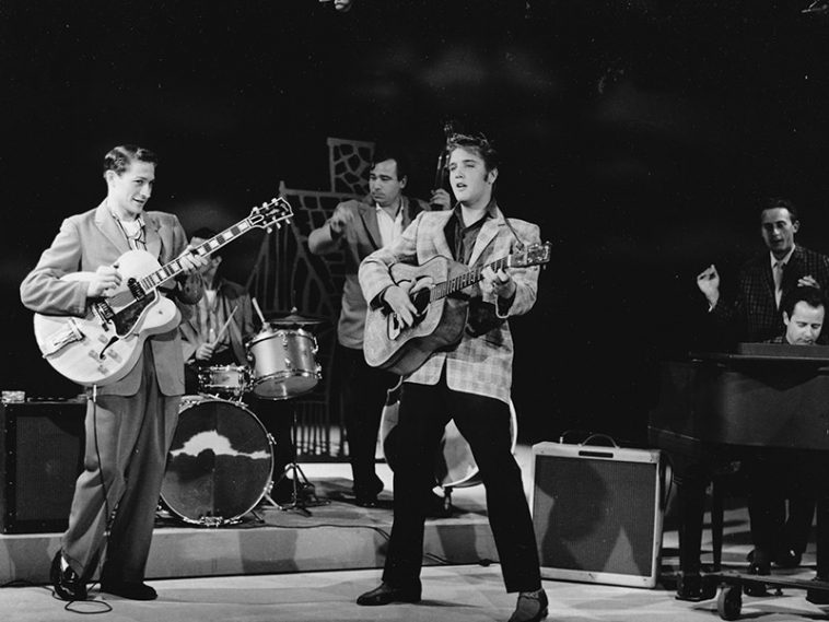 Elvis Presley on The Ed Sullivan Show