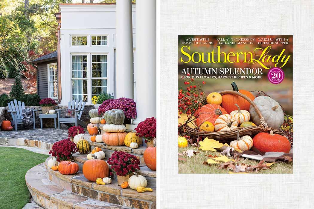 pumpkins and porches