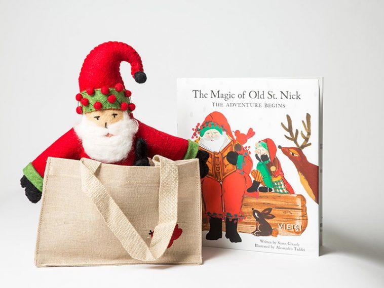 Vietri Santa Gift Set