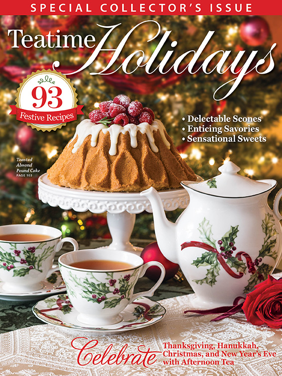 TeaTime Holidays cover 2018