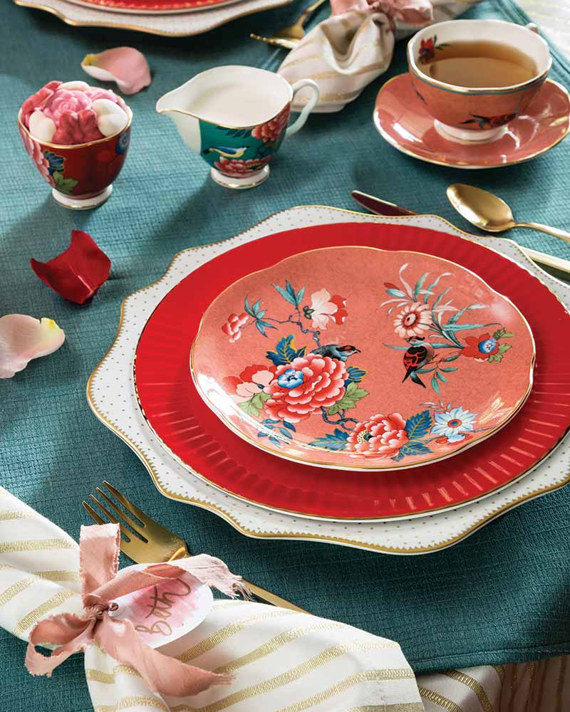 Galantine's Tea place setting