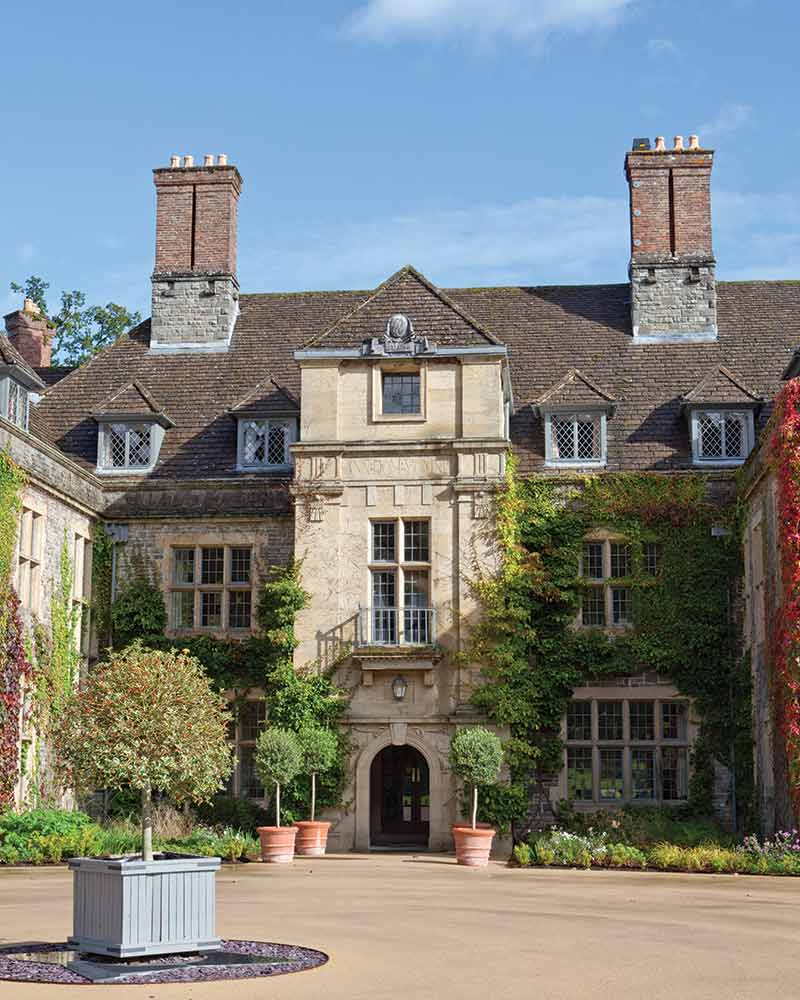 English Manor in Wales