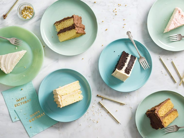 birthday cake spread
