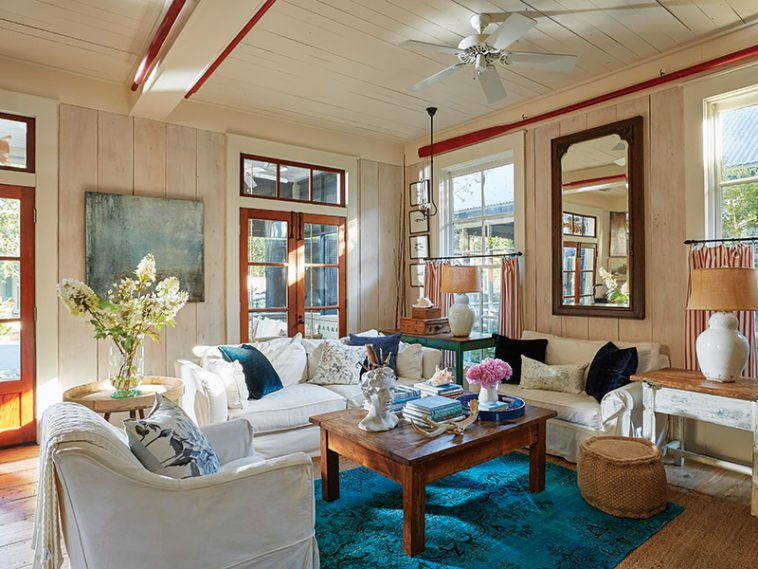 living room from Classic COttages by Cindy Cooper Smith