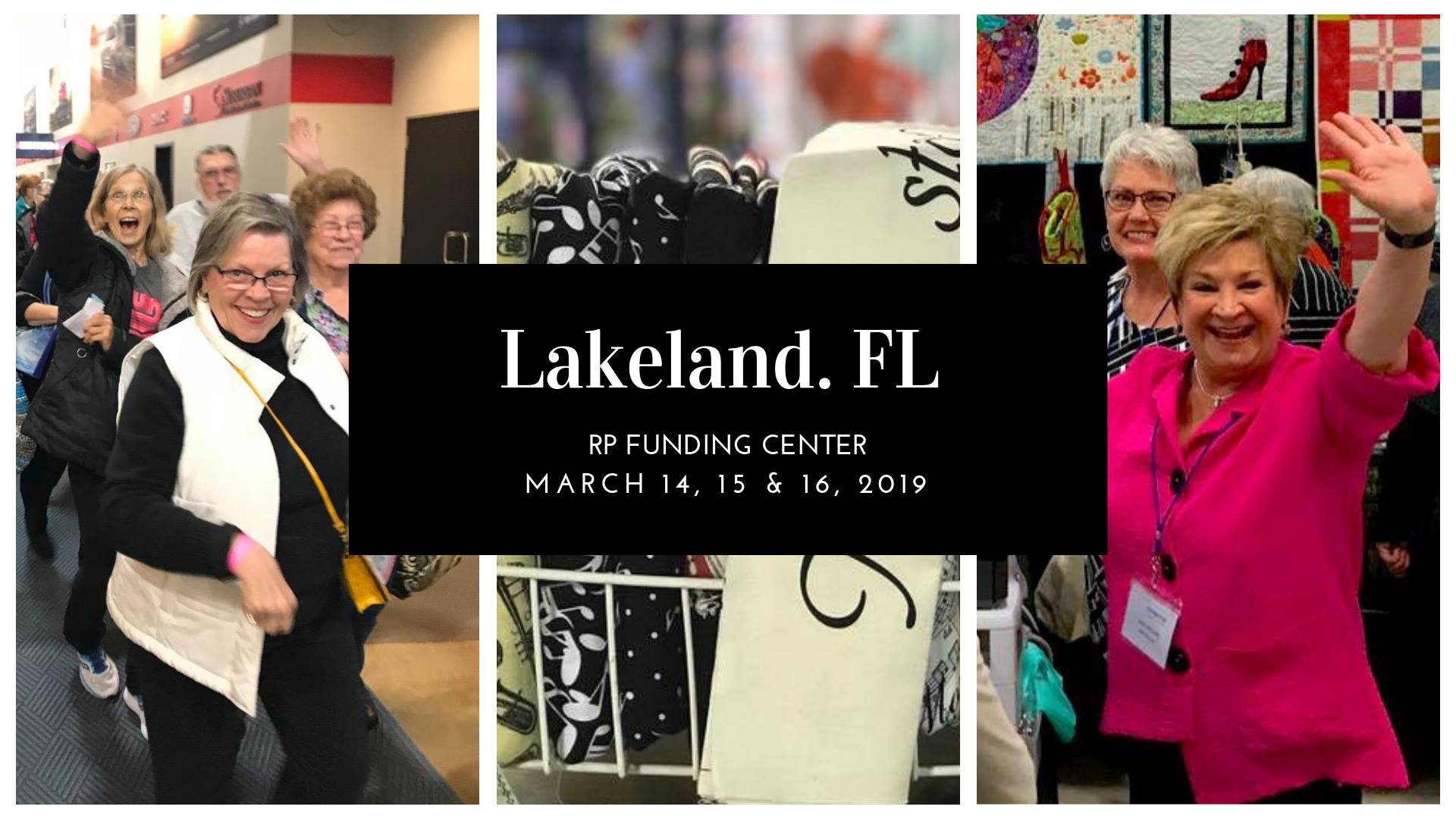 Quilt expo event