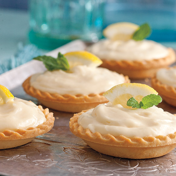 creamy lemon tarts