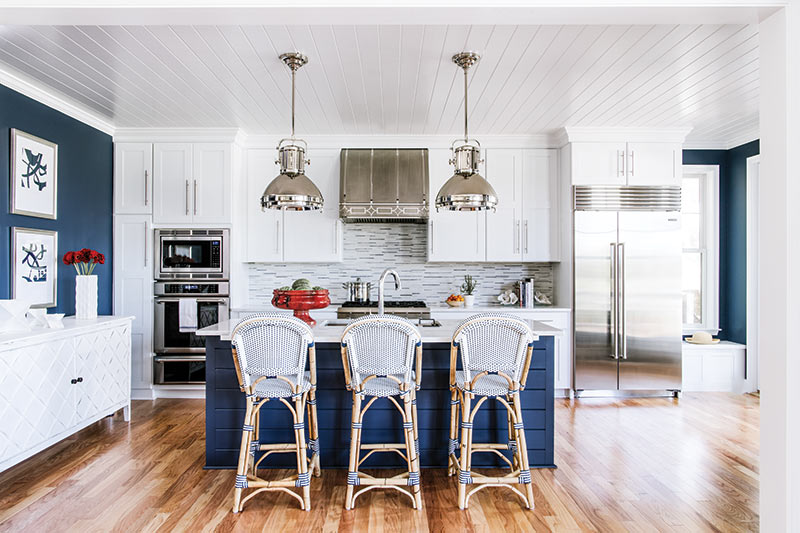 Chesapeake Bay house kitchen